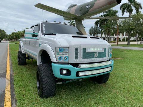 well modified 2008 Ford F 350 FX4 pickup custom for sale
