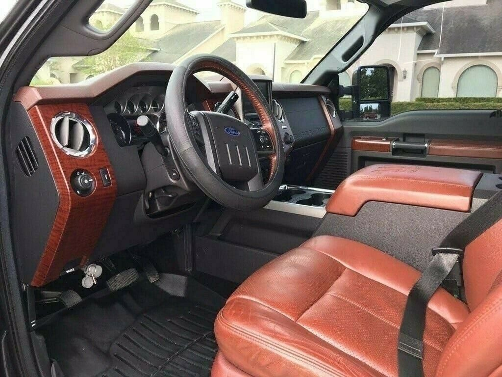 fully loaded 2014 Ford F 350 King Ranch custom
