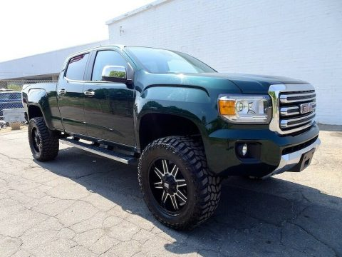 lifted 2015 GMC Canyon SLT custom for sale