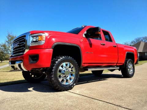 lifted 2015 GMC Sierra 2500 custom for sale