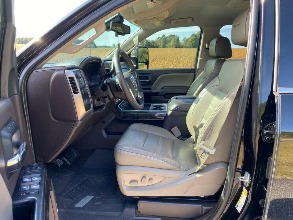 loaded 2015 GMC Sierra 2500 Denali custom
