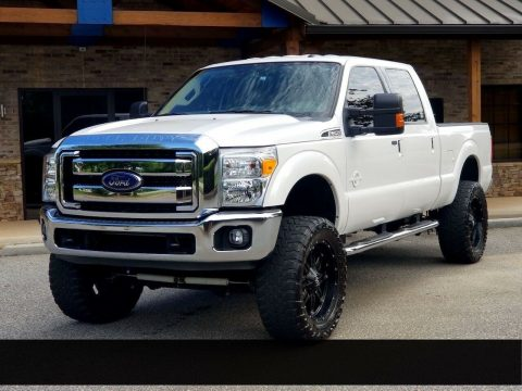 low miles 2015 Ford F 250 XLT custom for sale