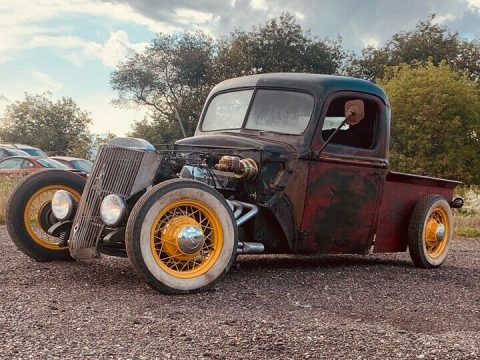 nice patina 1946 Ford Pickup custom for sale