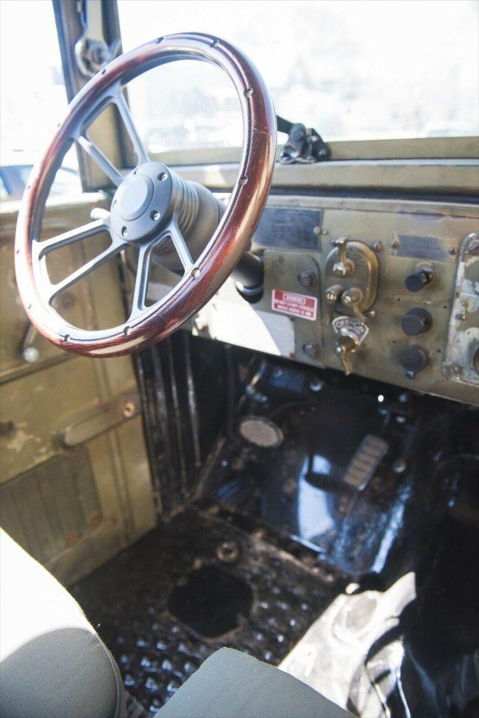 vintage 1955 Dodge M37 Power Wagon custom
