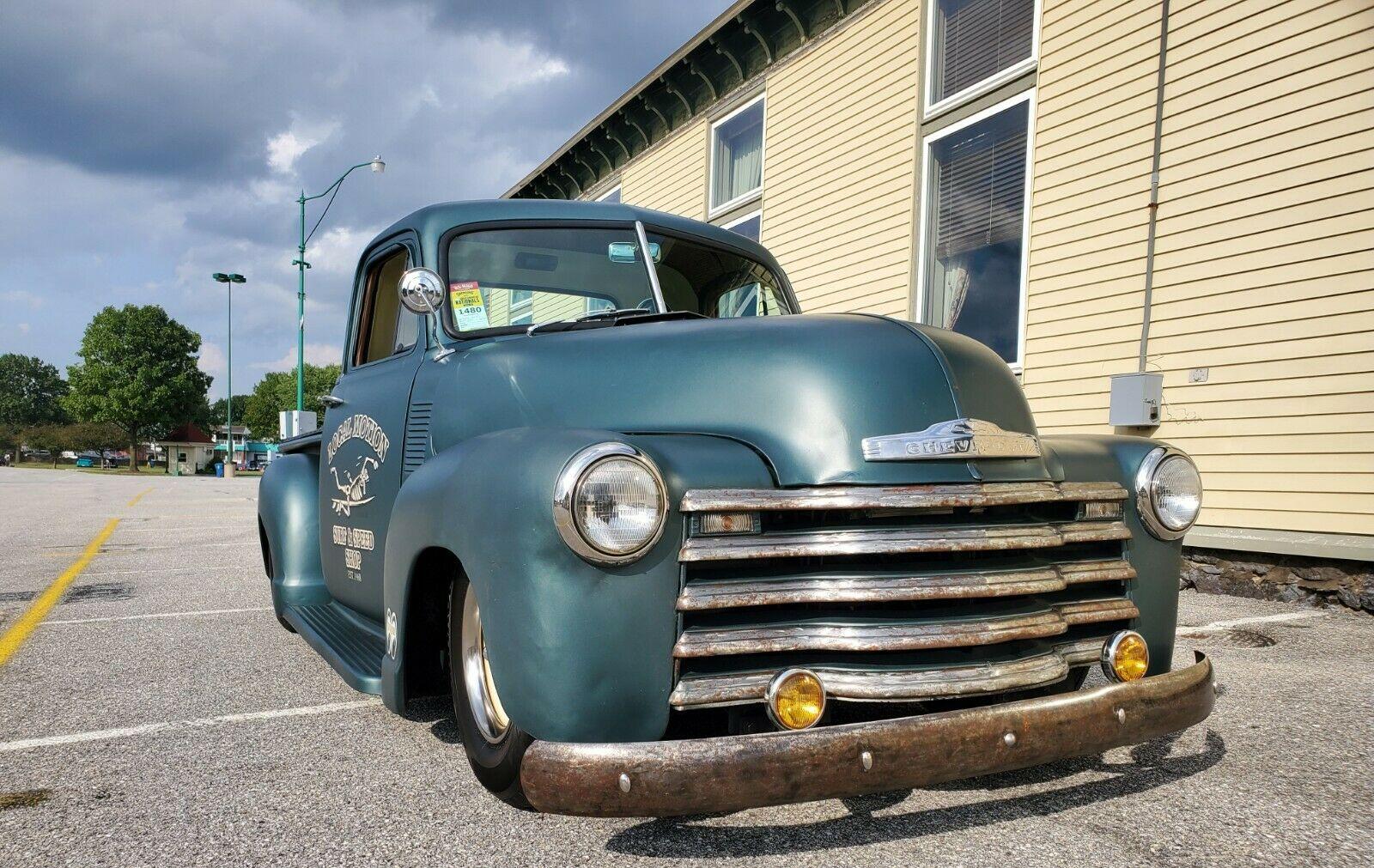 Well Built 1952 Chevrolet Pick Up Custom For Sale