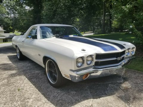 well modified 1970 Chevrolet El Camino SS 396 custom for sale