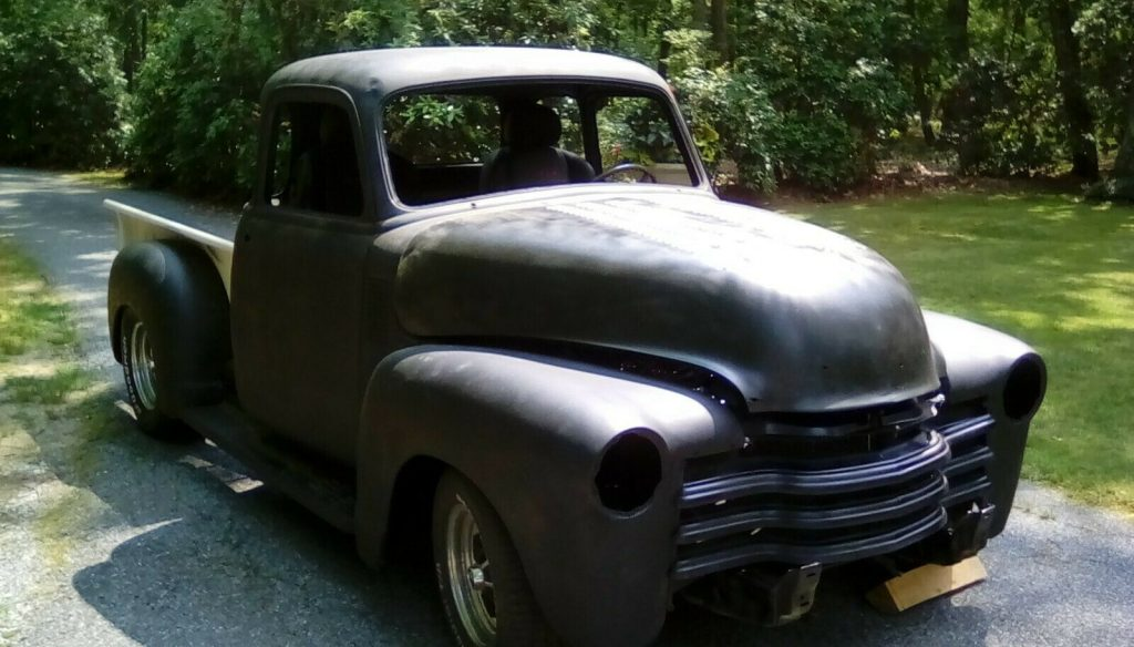 project 1954 Chevrolet Pickup 3100 custom