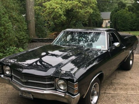 racer 1971 Chevrolet El Camino custom for sale