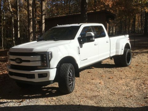 modified 2019 Ford F 350 Lariat Dually custom for sale
