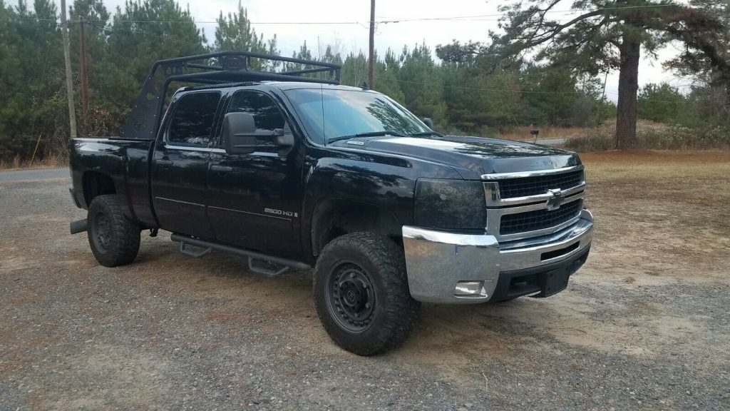 well running 2007 Chevrolet Silverado 2500 2500hd custom
