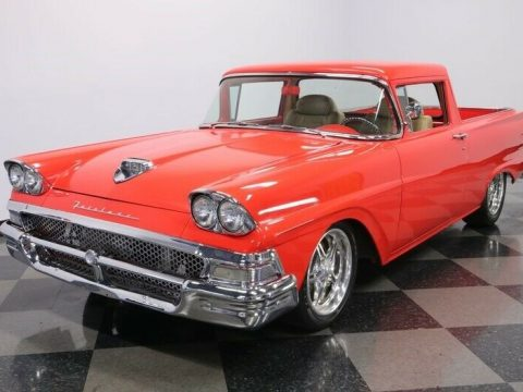 Restomod 1958 Ford Ranchero vintage custom for sale