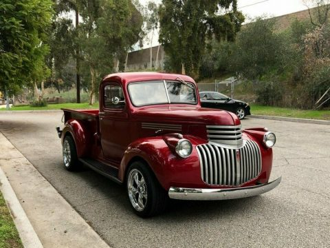 restored 1946 Chevrolet C/K Pickup 1500 custom for sale
