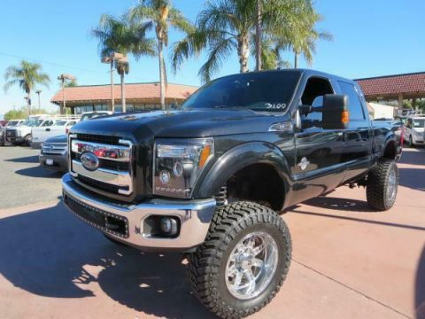 lifted 2012 Ford F-250 LARIAT custom for sale