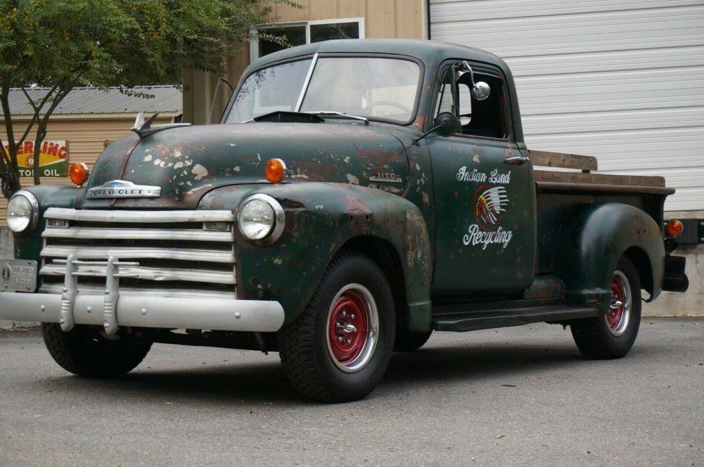 nice patina 1953 Chevrolet Pickup custom