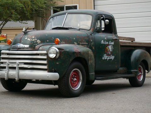 nice patina 1953 Chevrolet Pickup custom for sale