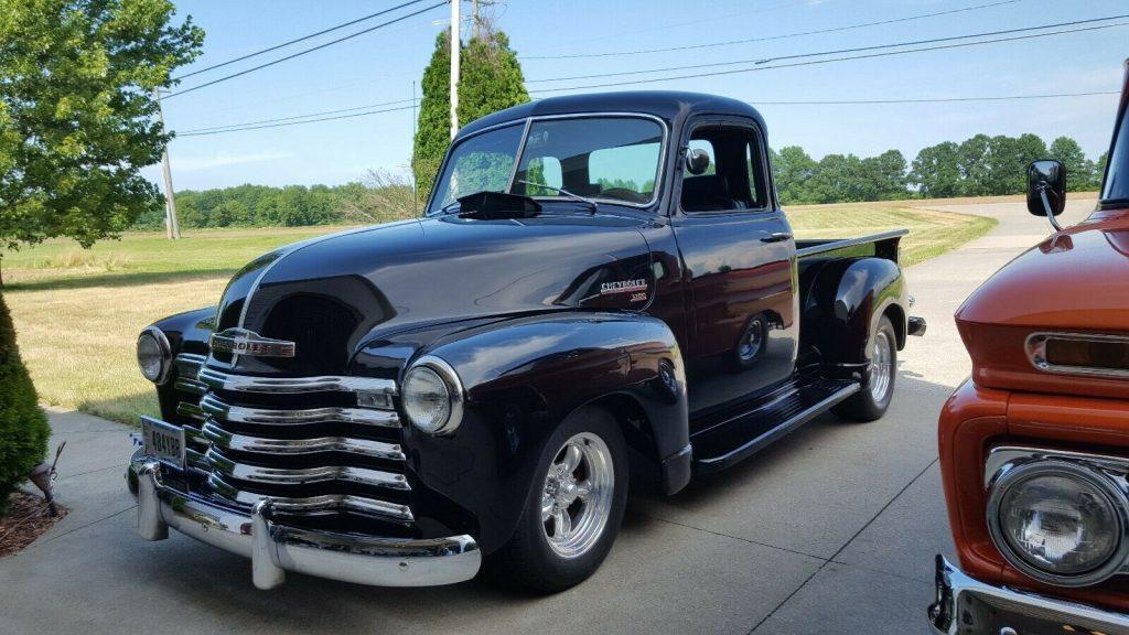 restomod 1953 Chevrolet 5 Window Pickup custom