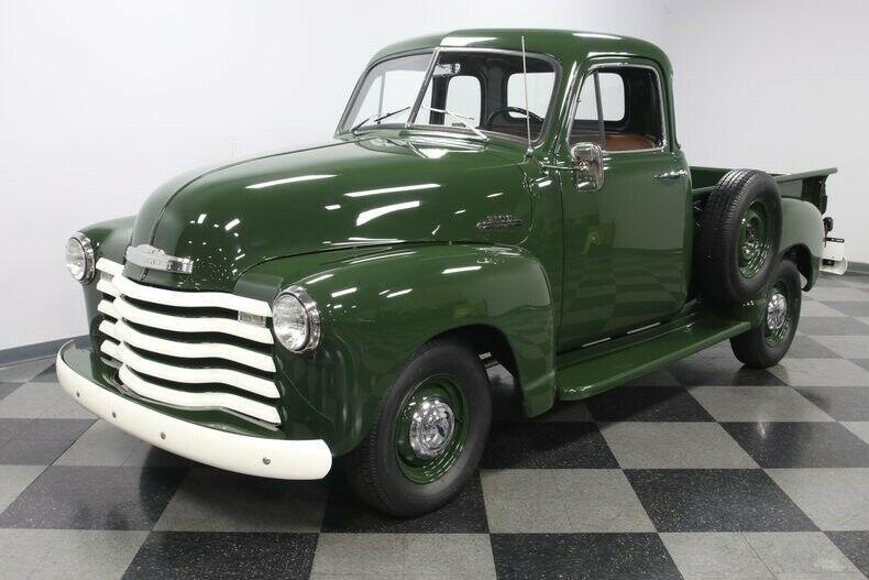 restomod 1953 Chevrolet Pickup 5 Window custom
