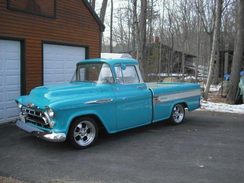restomod 1957 Chevrolet Pickup custom for sale