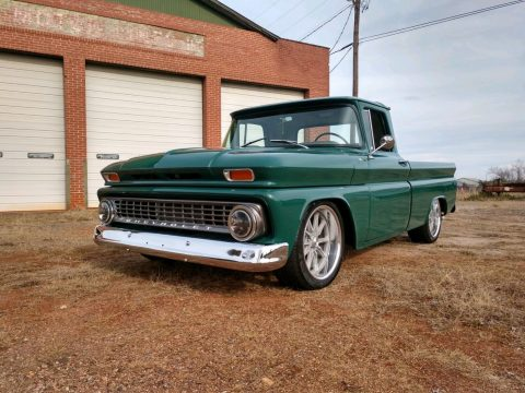 restored and modified 1963 Chevrolet C 10 FLEETSIDE pickup custom for sale