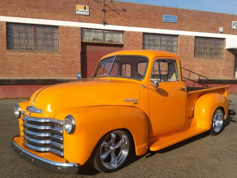 very nice 1951 Chevrolet Pickup Deluxe custom for sale