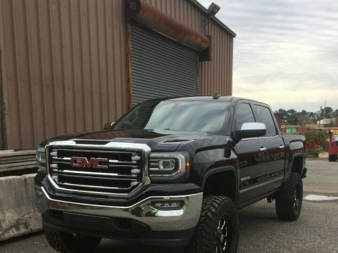 low miles 2016 GMC Sierra 1500 K1500 SLT custom for sale