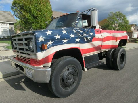 modified 1979 GMC C7000 custom truck for sale
