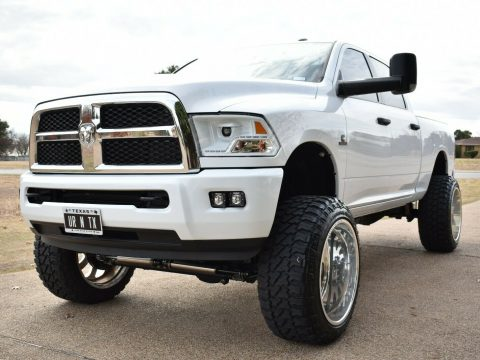 very clean 2016 Dodge Ram 2500 custom for sale