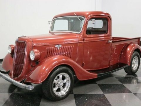 vintage 1935 Ford Pickup custom for sale