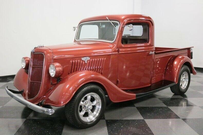 vintage 1935 Ford Pickup custom