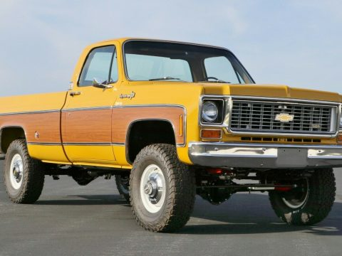 4×4 conversion 1973 Chevrolet C/K Pickup 3500 C20 custom for sale