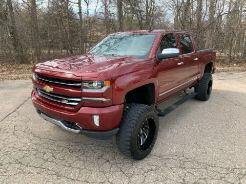 loaded with goodies 2016 Chevrolet Silverado 1500 LTZ custom for sale