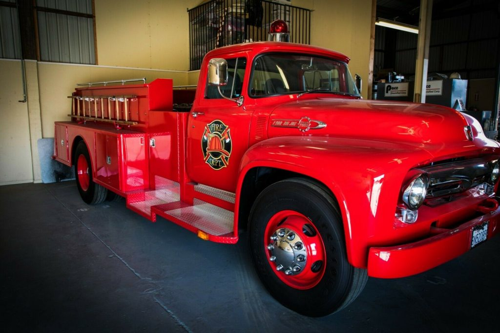 modified 1956 Ford F900 Big Job custom