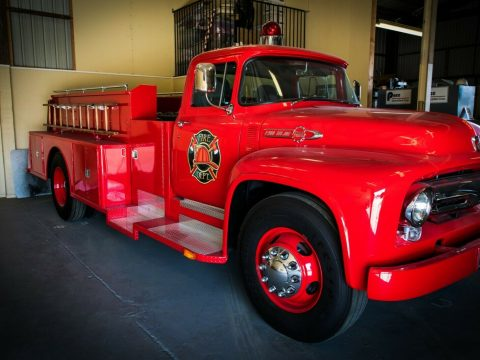 modified 1956 Ford F900 Big Job custom for sale