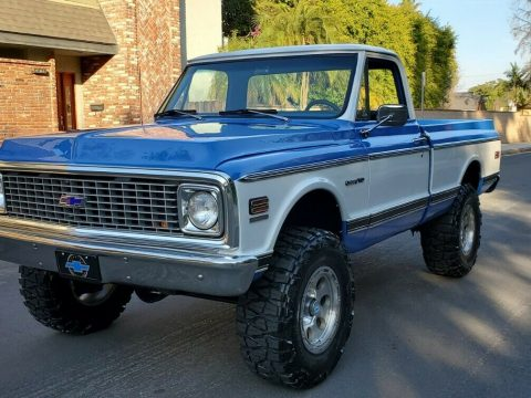 modified 1972 Chevrolet C/K Pickup 1500 K10 custom for sale