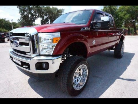 nice and clean 2016 Ford F 250 Lariat custom for sale
