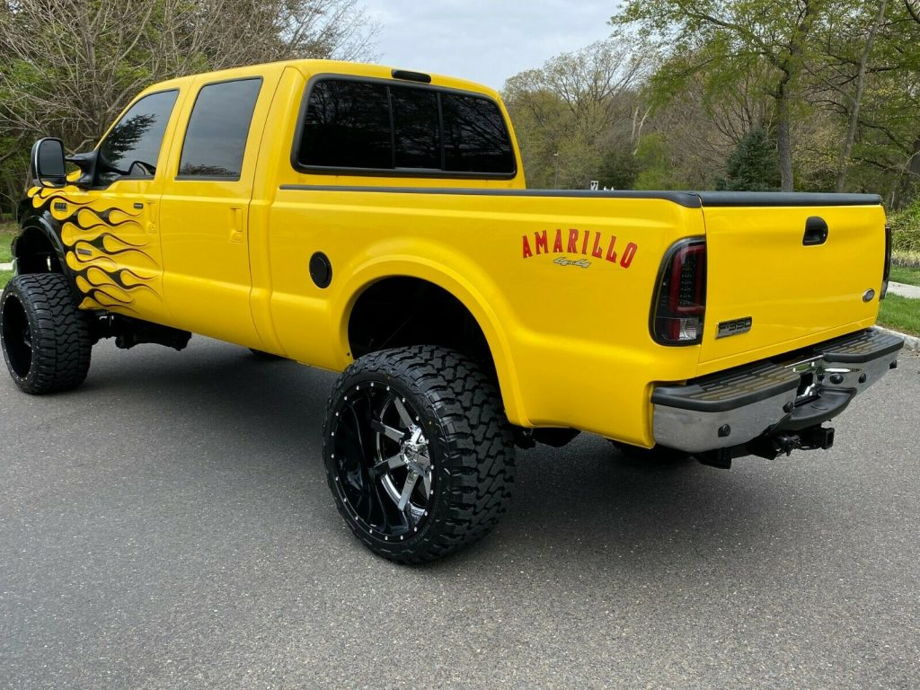 ONE OF A KIND 2006 Ford F 250 Amarillo Diesel custom