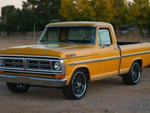 restored 1971 Ford 1/2 Ton Pickup Ranger custom for sale