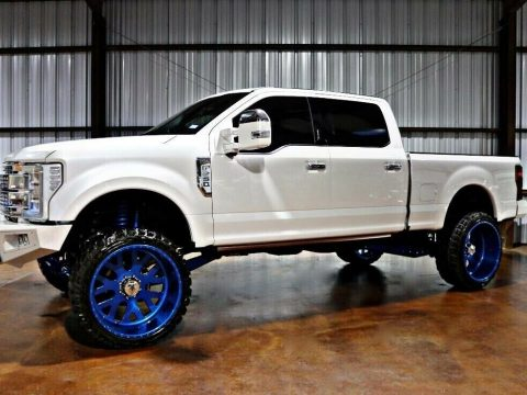 well modified 2017 Ford F 250 Super DUTY custom for sale