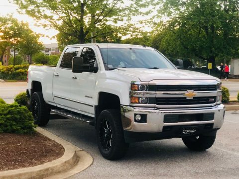 upgraded 2015 Chevrolet Silverado 2500 LTZ custom for sale