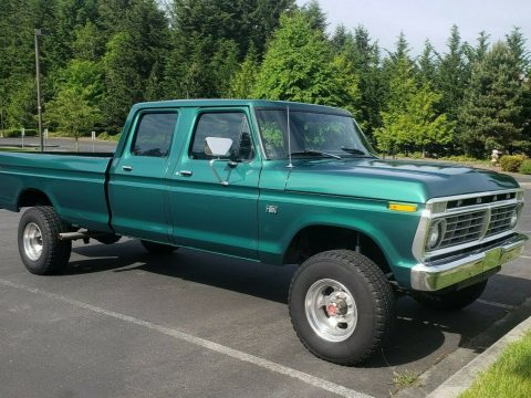 4×4 converted 1973 Ford F 350 custom for sale