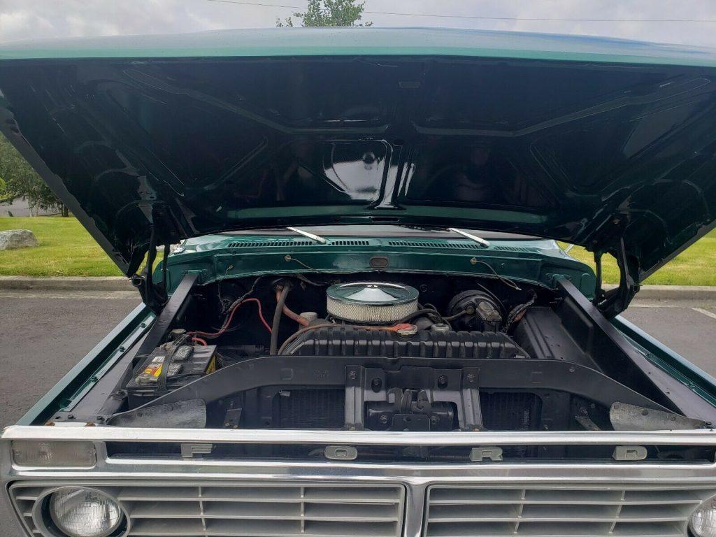 4×4 converted 1973 Ford F 350 custom