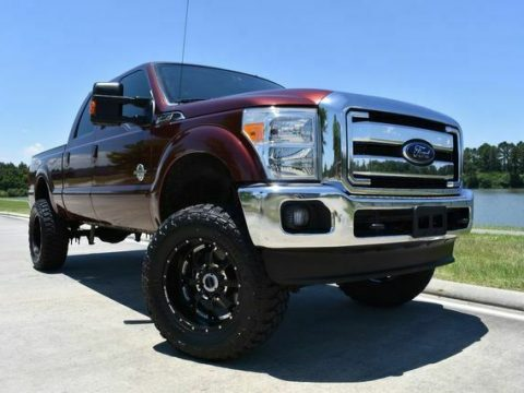 lifted 2015 Ford F 250 Lariat custom for sale