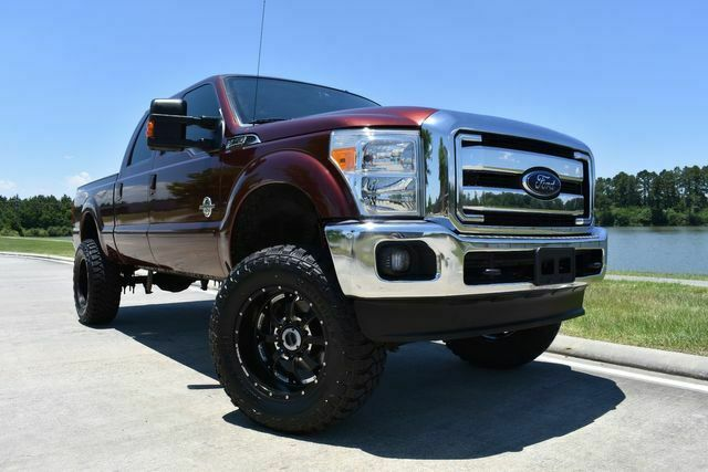 lifted 2015 Ford F 250 Lariat custom