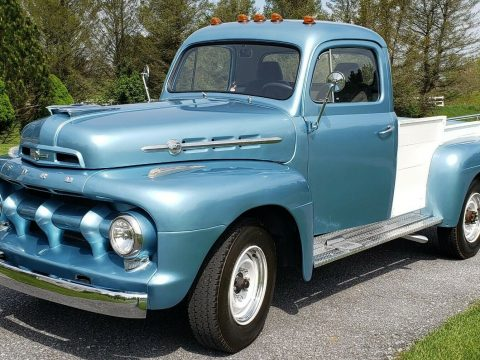 new parts 1952 Ford F3 Pickup custom for sale