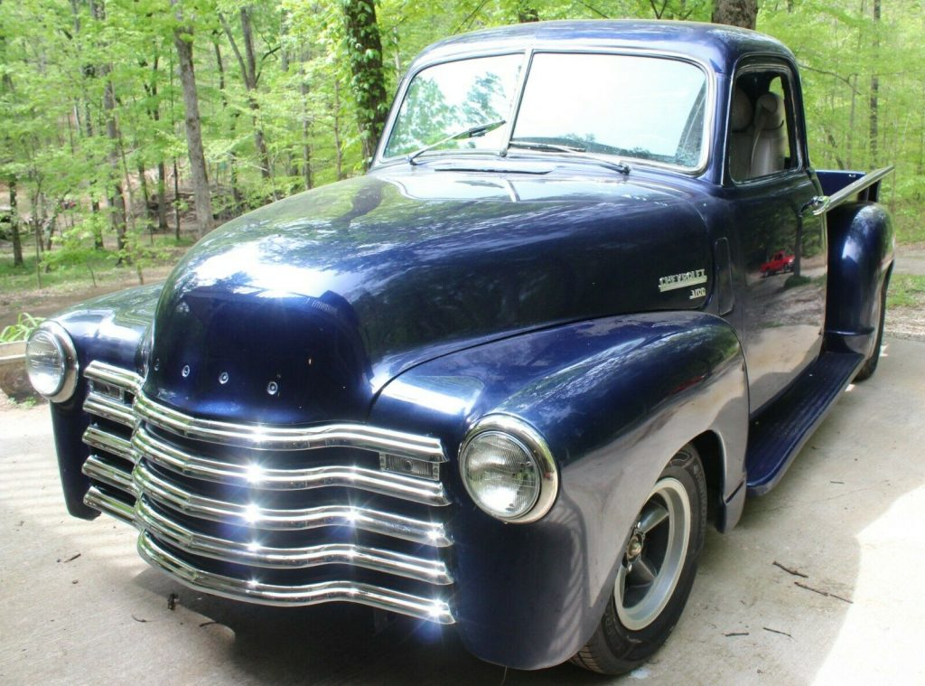 street rod 1950 Chevrolet Pickup custom