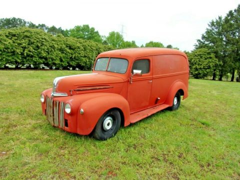 beautiful 1947 Ford 3/4 Ton Panel custom for sale