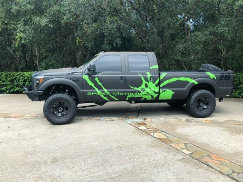 low miles 2012 Ford F 350 Baja Edition custom for sale