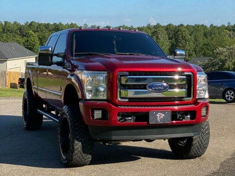 mint 2015 Ford F 250 Super DUTY custom for sale