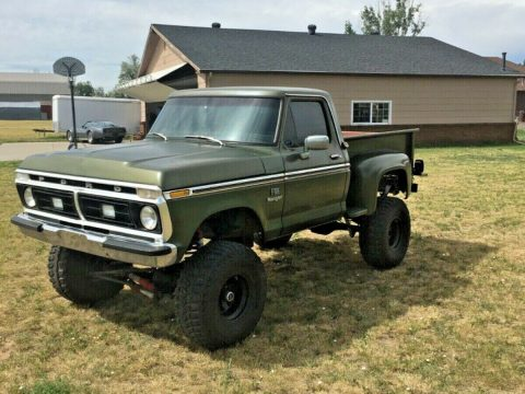 very solid 1976 Ford F 100 Ranger custom for sale